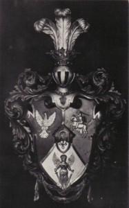 Herb Konwentu z kwatery w Wilnie