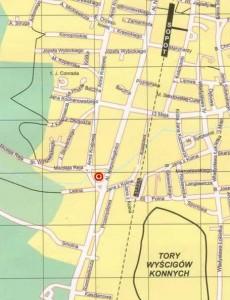 Mapka dojazdu (źródło: sopot.net)