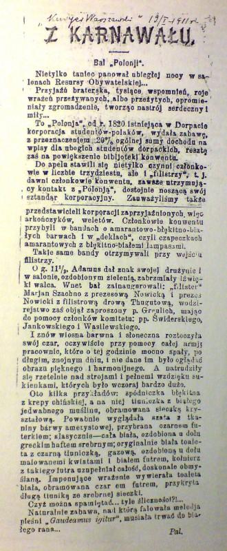 II Bal Konwentu Polonia
