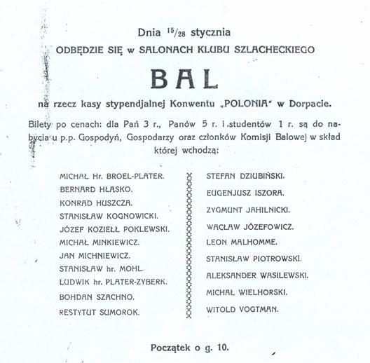III Bal Konwentu Polonia