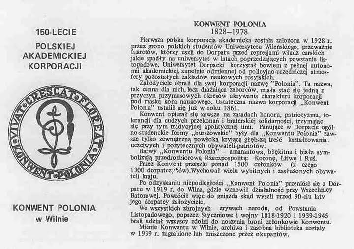 Obchody 150-lecia Konwentu Polonia w Londynie