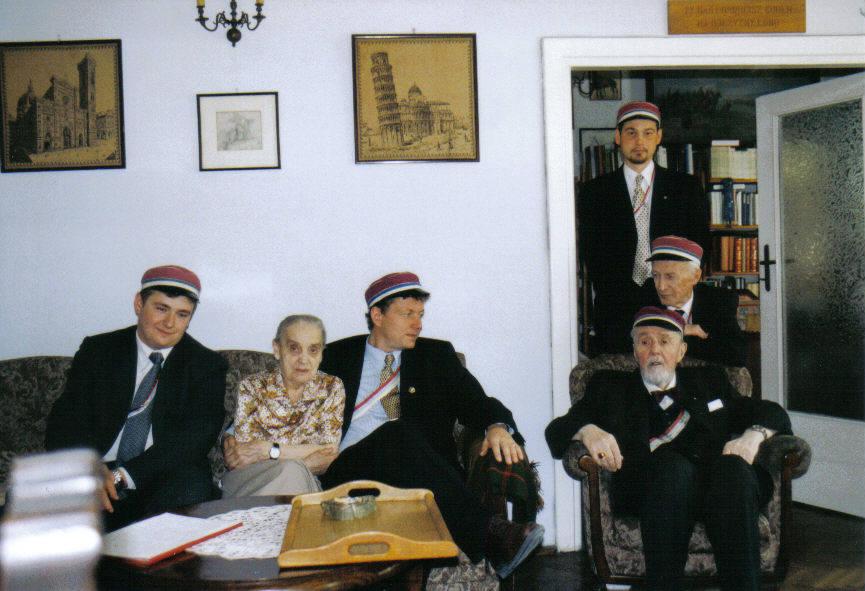 Komersz 123-lecia bratniej K!Arkonia w Warszawie