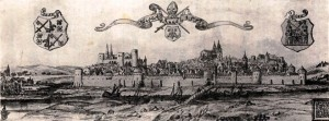 Miasto Dorpat - obecnie Tartu w Estonii