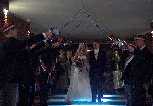 Ślub com. Michała Tuschera