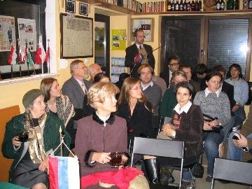 Pierwszy wykład otwarty na kwaterze Konwentu po II wojnie światowej