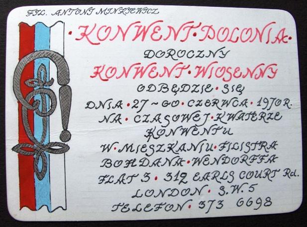 Komersz wiosenny 142-lecia K!Polonia w Londynie