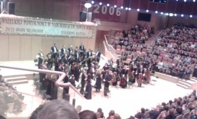 Konwentowa wizyta w Filharmonii