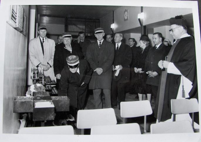 Odsłonięcie tablicy ku czci filistra K! L. Malhomme de la Roche
