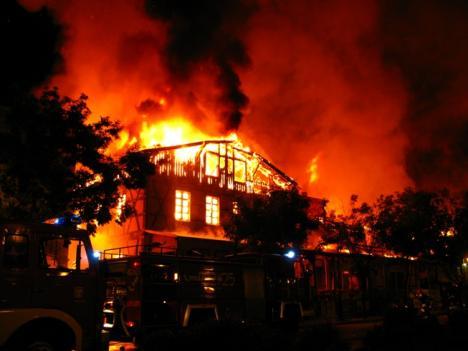Spalenie archiwaliów dorpackich korporacji