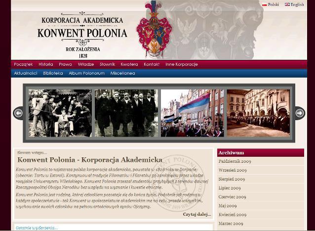 Nowa strona internetowa Konwentu Polonia