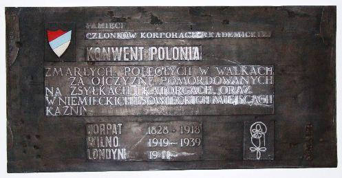 Odsłonięcie tablicy ku czci Konwentu w Londynie