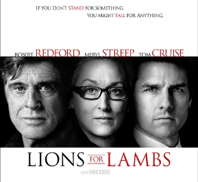 """Kwaterowy seans filmowy – """"Lions for Lambs"""""""