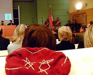 Inauguracja roku akademickiego 2005/2006 na UG