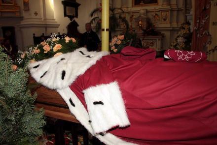 Uroczystości pogrzebowe Śp. Fil. Zgliczyńskiego